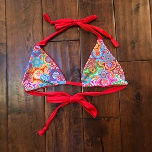 lsea reversible triangle bikini top